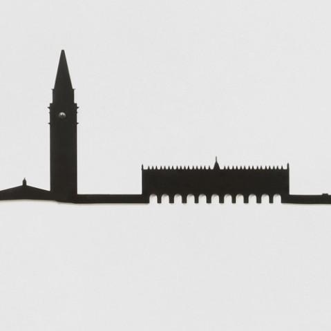 decoration murale the line venezia noir