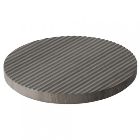 dessous plat groove 21 muuto gris