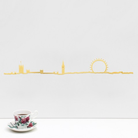 SKYLINE LONDON 50CM, 2 couleurs de THELINE