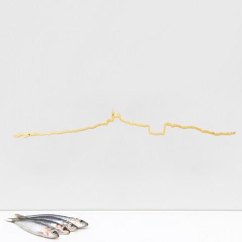 SKYLINE MARSEILLE 50CM, 2 couleurs de THELINE