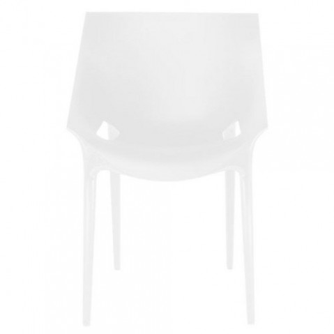 Dr Yes Fauteuil Design Kartell Blanc