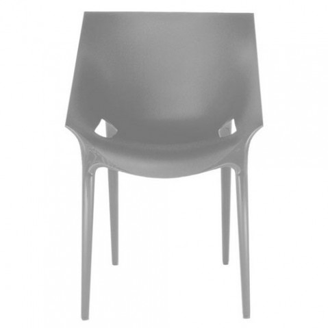 Dr Yes Fauteuil Design Kartell Gris