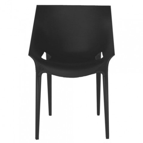 Dr Yes Fauteuil Design Kartell Noir