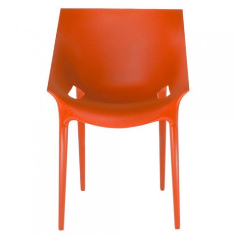 Dr Yes Fauteuil Design Kartell Orange