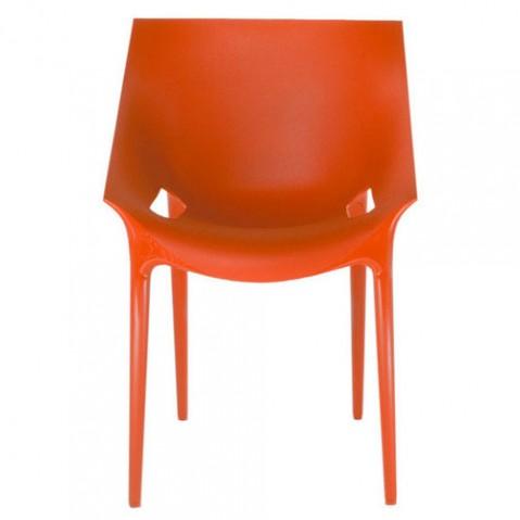 Dr Yes Fauteuil Design Kartell Orange
