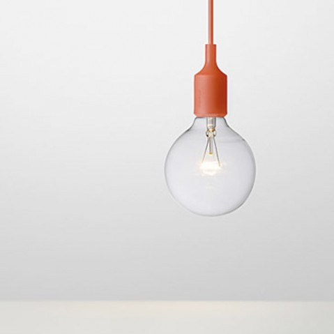 Muuto Suspension E27 rouge
