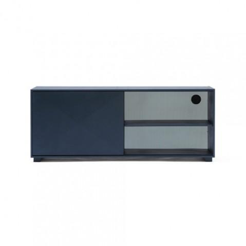 Enfilade Buffet Design Tolix Bleu