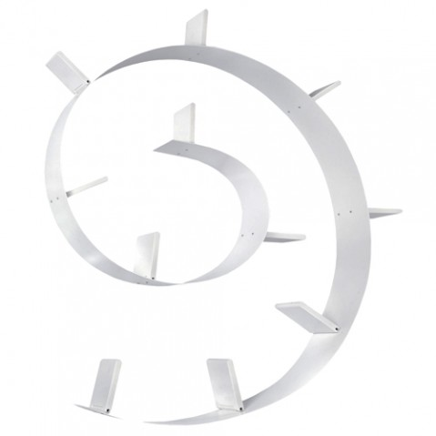 etagere bookworm 520 kartell blanc