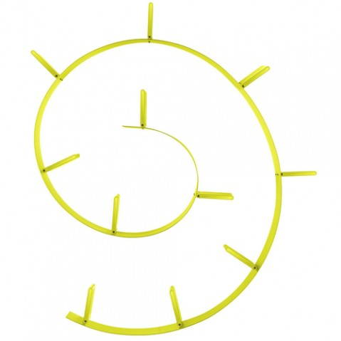 etagere popworm jaune de kartell. Black Bedroom Furniture Sets. Home Design Ideas