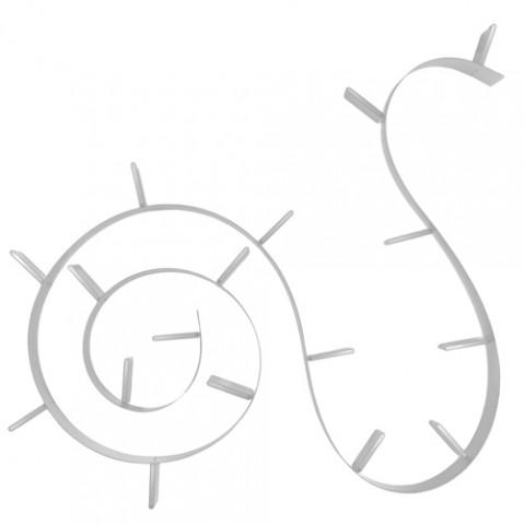 etagere popworm 820 kartell aluminium