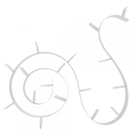 etagere popworm 820 kartell blanc