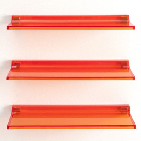 etagere shelfish kartell orange