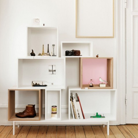 etagere stacked medium muuto gris
