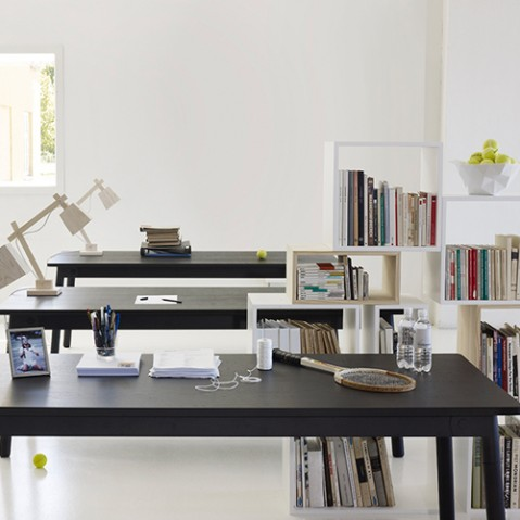 etagere stacked medium muuto blanc