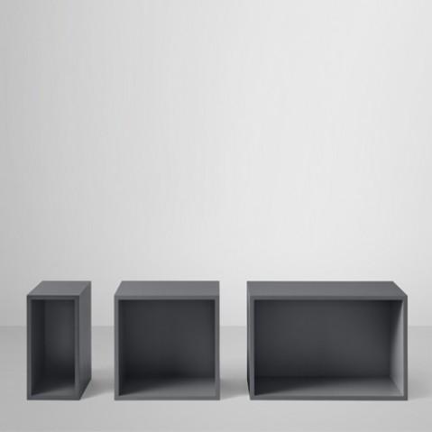 stacked module avec fond large avec fond gris fonc de muuto. Black Bedroom Furniture Sets. Home Design Ideas