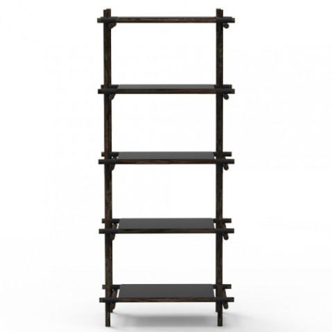 etagere stick system 1 5 menu noir frene