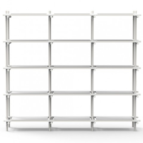 étagere stick system menu 3 5 blanc