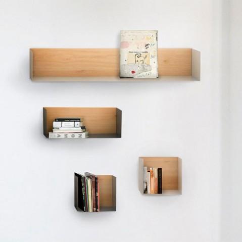 etagere murale u shelf blanc de ethnicraft. Black Bedroom Furniture Sets. Home Design Ideas