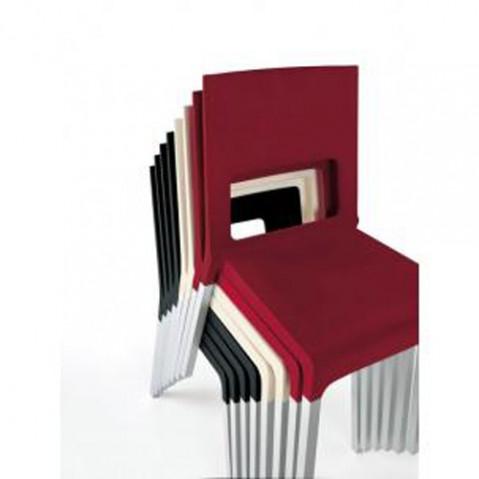Kristalia chaise Face blanc