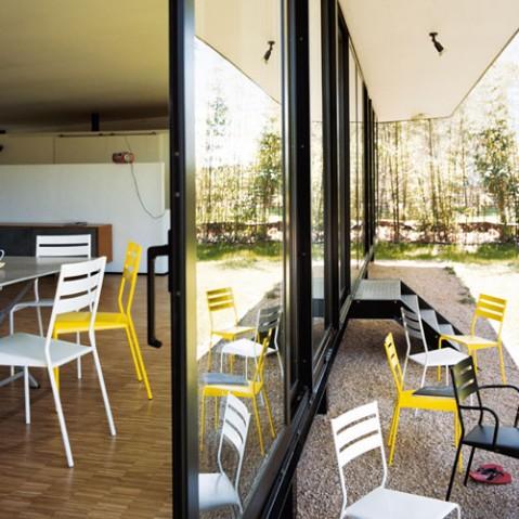 Facto Chaise Design Fermob Coquelicot