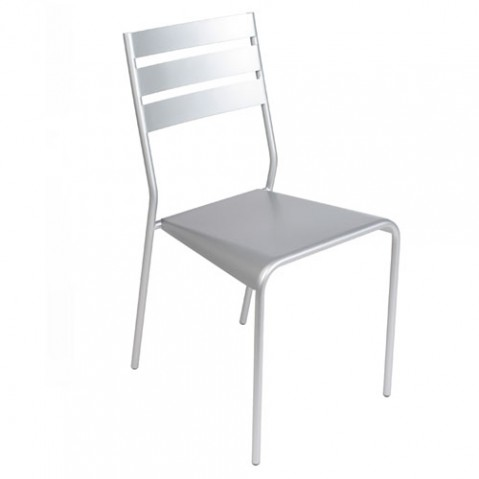 Facto Chaise Design Fermob Gris Metal