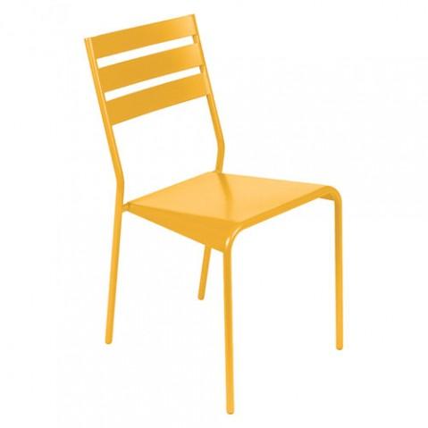 chaise facto fermob miel
