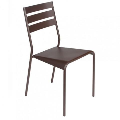 Facto Chaise Design Fermob Rouille