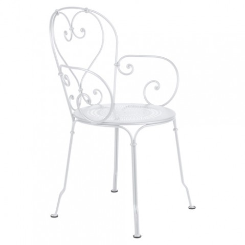 fauteuil 1900 fermob blanc