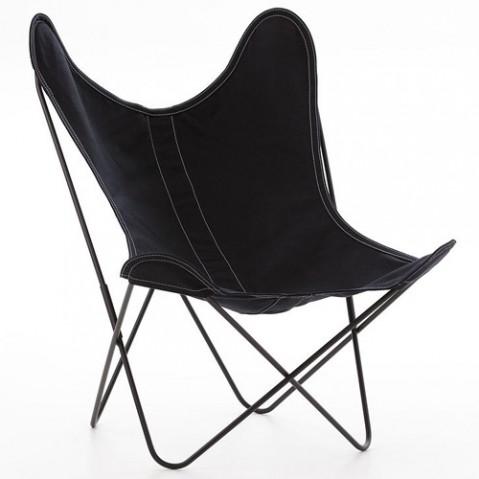 fauteuil aa coton airborne noir
