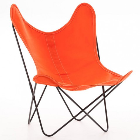 fauteuil aa coton airborne orange