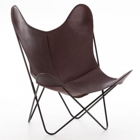 fauteuil aa airborne cuir buffalo chocolat