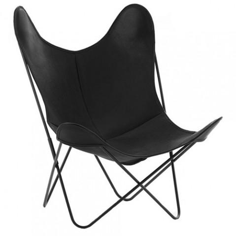 fauteuil aa airborne cuir buffalo noir