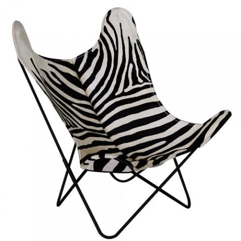 fauteuil aa airborne zebre