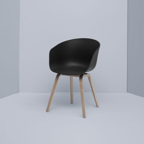 fauteuil about a chair hay chene blanc