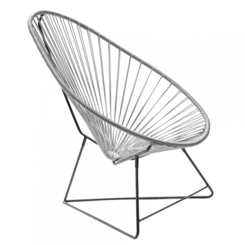 fauteuil acapulco boqa gris