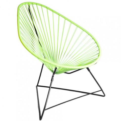 fauteuil acapulco boqa vert anis