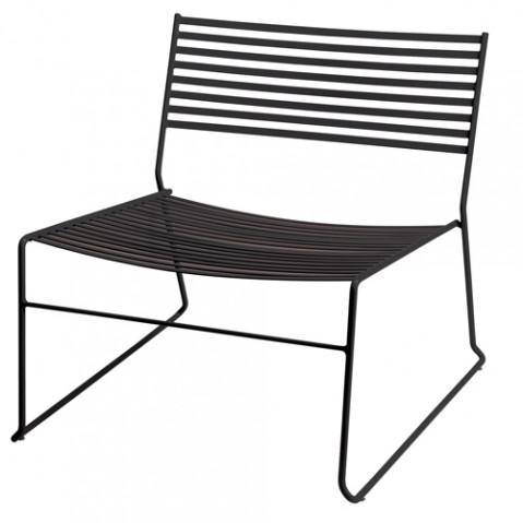 fauteuil bas aero emu noir