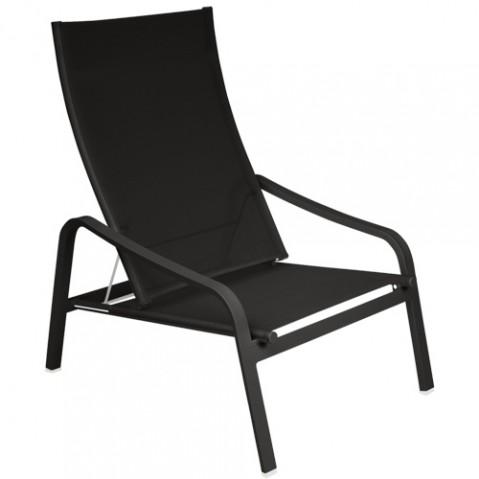 fauteuil bas alize fermob reglisse