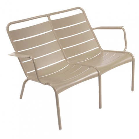 fauteuil bas luxembourg duo muscade