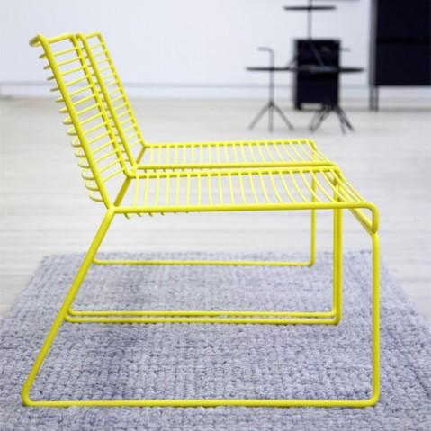 fauteuil bas hee hay blanc