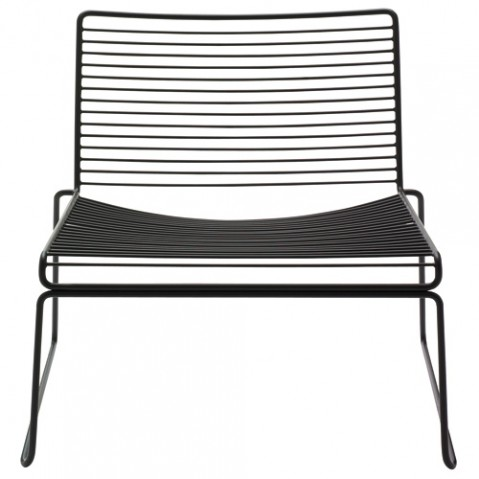 fauteuil bas hee hay noir