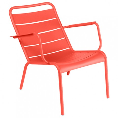 fauteuil bas luxembourg capucine