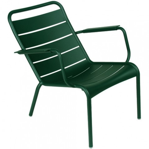 fauteuil bas luxembourg fermob cedre