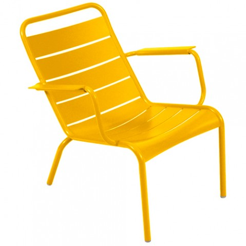 fauteuil bas luxembourg miel