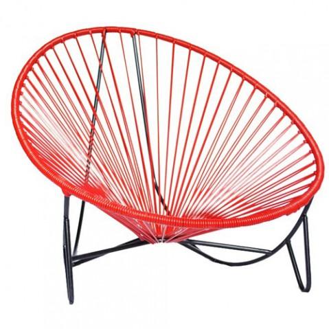 fauteuil bas tulum boqa rouge