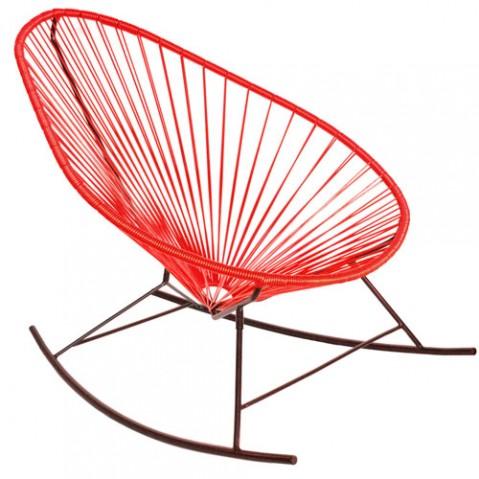 fauteuil bascule celestun boqa rouge