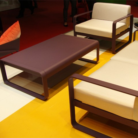 fauteuil bellevie fermob carbone