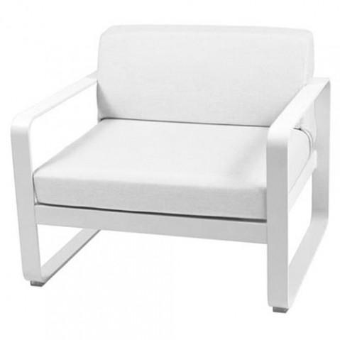 fauteuil bellevie fermob blanc