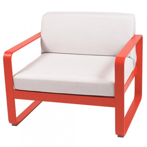 fauteuil bellevie fermob capucine