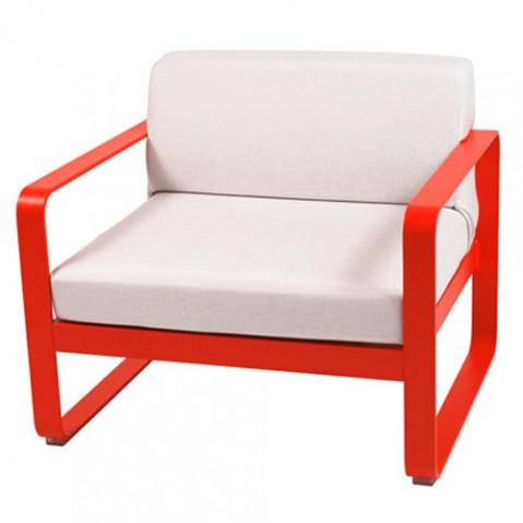 fauteuil bellevie fermob coquelicot